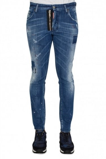 Dsquared2 Zip Skater Jeans