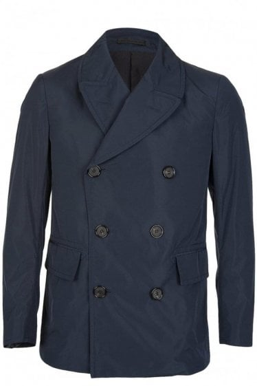 Alexander McQueen Double Breasted Jacket Navy