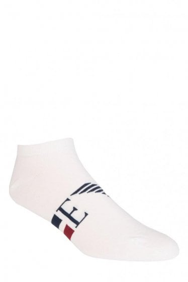 Emporio Armani 2 Pack Stretch Cotton Socks White