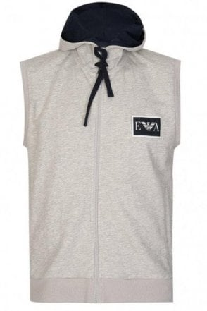 Emporio Armani Combination Hooded Gilet