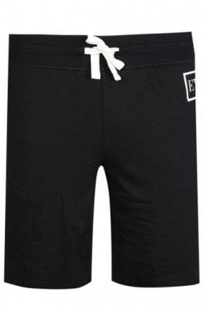 Emporio Armani Combination Jogger Shorts Black