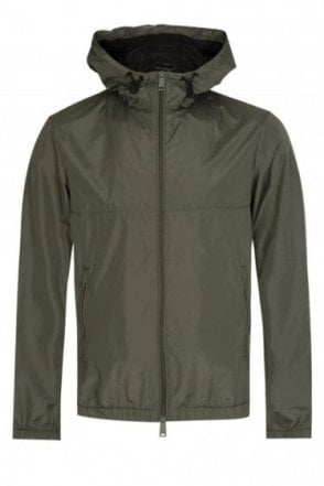 Emporio Armani Hooded Jacket Khaki