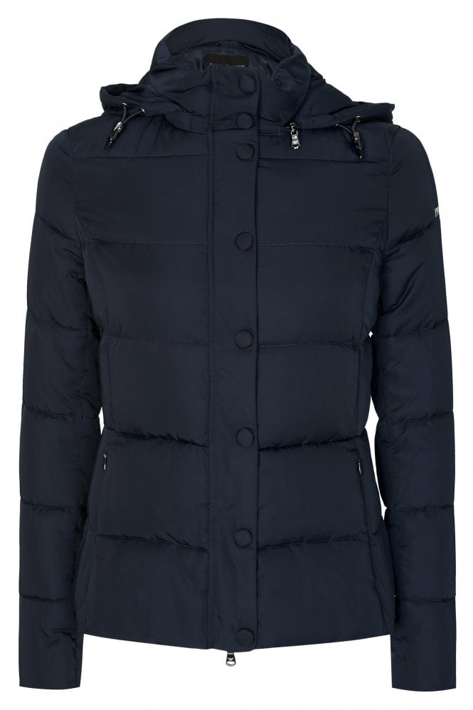 Emporio Armani Hooded Quilted Coat