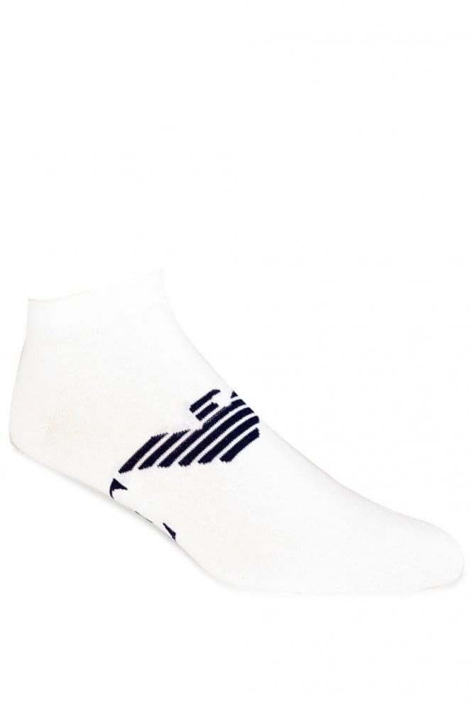 Emporio Armani Sneaker Socks White