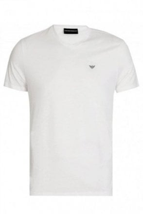 Emporio Armani V-Neck T-Shirt Twin Pack White