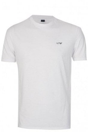 Emporio Armani White Crewneck Two Pack