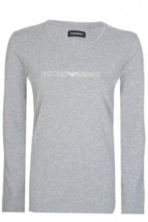 Emporio Armani Womens Long Sleeved Top