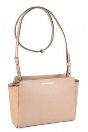 Emporio Armani Womens Nude Shoulder Sling Bag