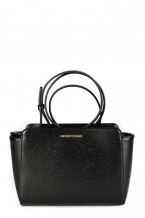 Emporio Armani Womens Shoulder Sling Bag Black