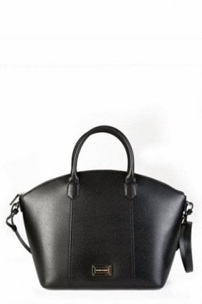 Emporio Armani Womens Top Handle Tote Black