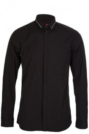 Hugo Boss Ems Shirt Black