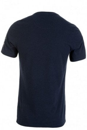 Barbour Steve McQueen Erfurt T-Shirt Navy-Small