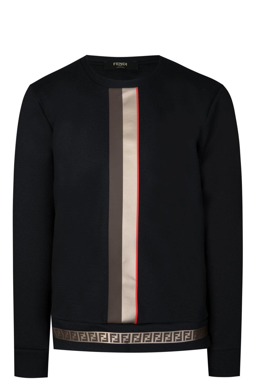 befe183dac98 FENDI Fendi Contrast FF Trim Sweatshirt - Clothing from Circle ...