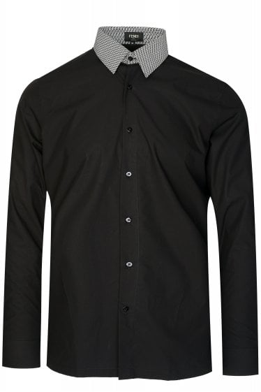 Fendi FF Collar Shirt