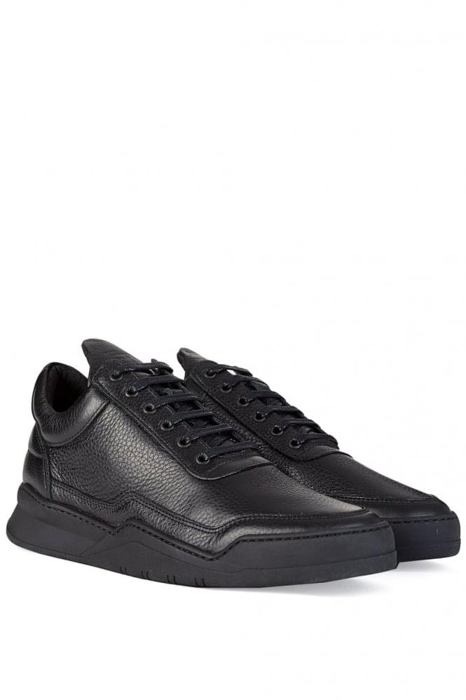 FILLING PIECES Low Top Jasper Trainers Black
