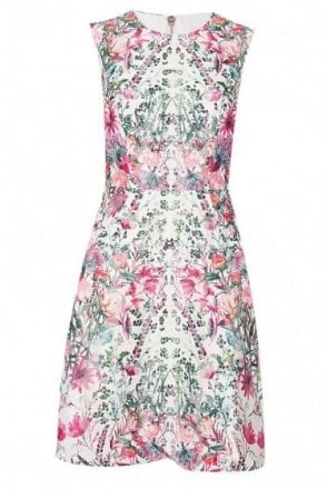 Ted Baker Womens Front Detail Pleat Dress