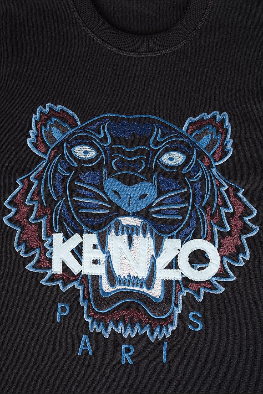 Kenzo Kenzo Tiger Logo Sweatshirt Black Kenzo From