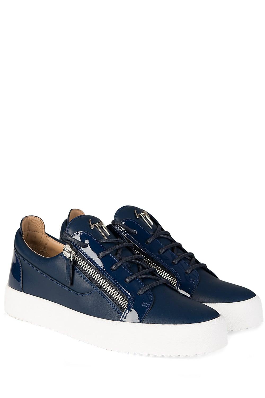 Giuseppe Zanotti Blue Low Sneakers