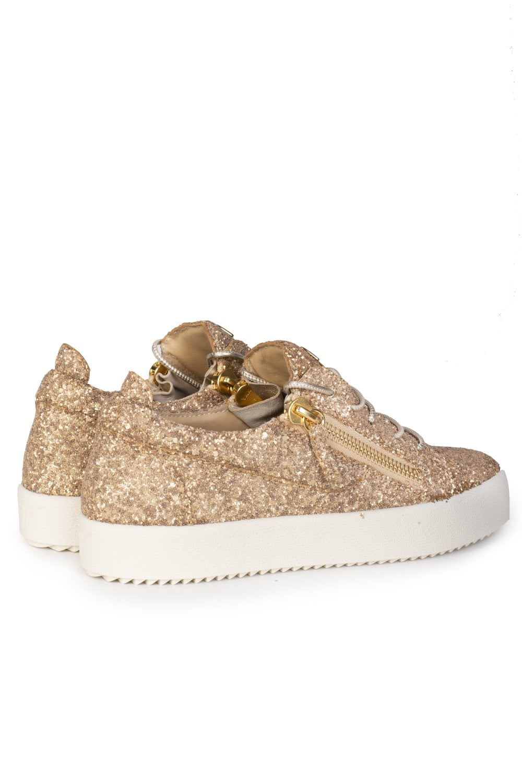 e724e20aa0945 GIUSEPPE ZANOTTI Giuseppe Zanotti Cheryl Glitter Low-top Sneakers ...