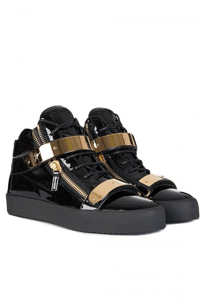 GIUSEPPE ZANOTTI Double Clasp High-Top Sneakers
