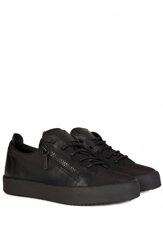 GIUSEPPE ZANOTTI Mesh London Low Sneakers