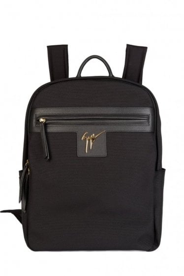 Giuseppe Zanotti Signature Backpack Black