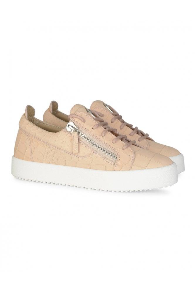 For Boys Giuseppe Zanotti Womens Frankie Low-top Croc Sneakers