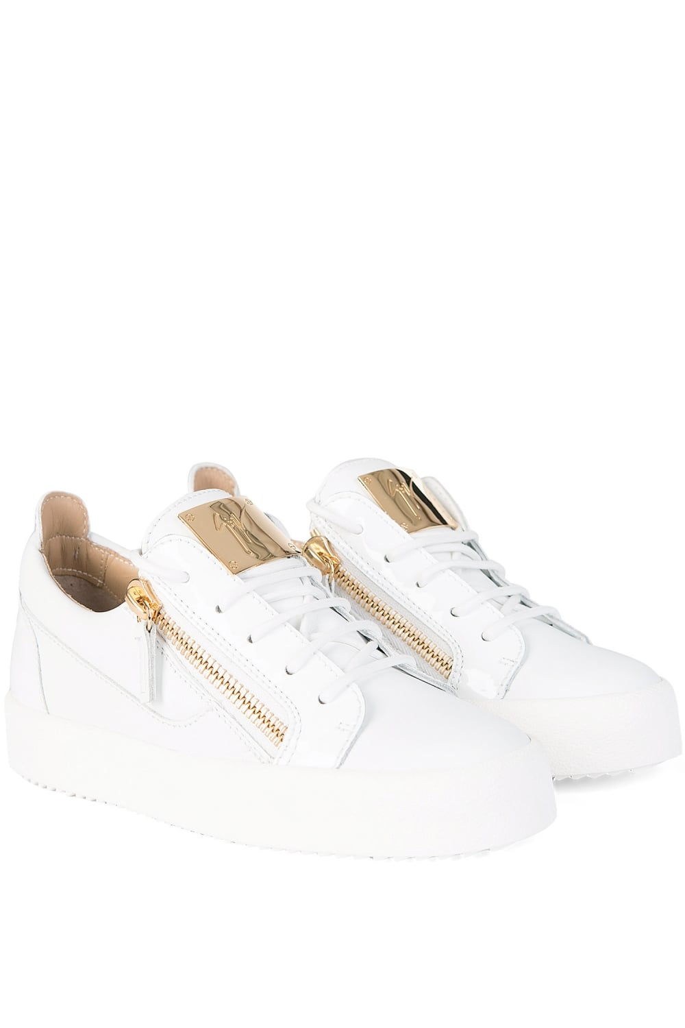 b837ddf6c17af Giuseppe Zanotti Women's May London Sneakers White