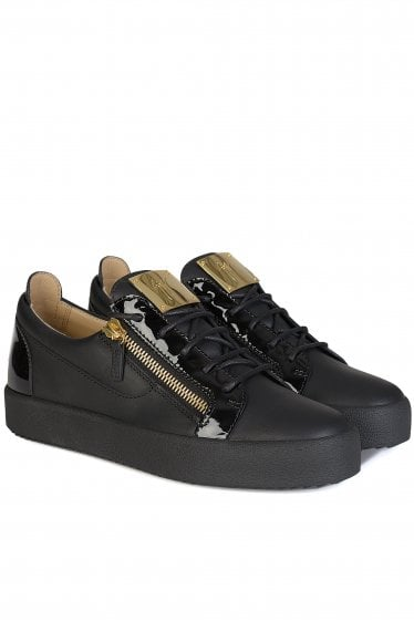 Giusseppe Zanotti Classic London Low Sneakers Black