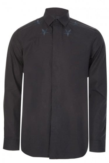 Givenchy 100% Cotton Shirt Black