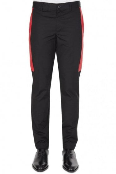 Givenchy 100% Cotton Trousers Black