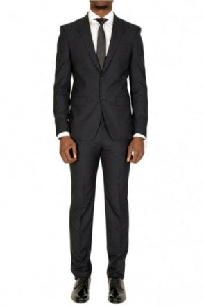 Givenchy 2 Button Slim Fit Suit Navy