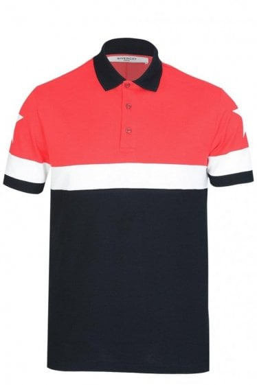 Givenchy Block Stripe Polo