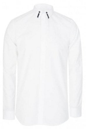 Givenchy Collar Detail Shirt White