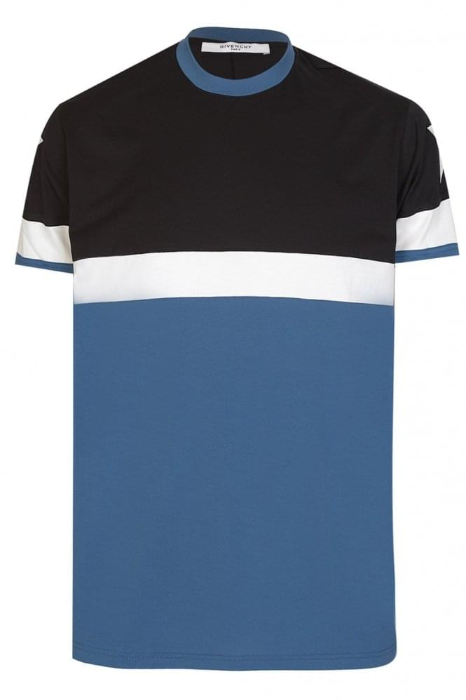 GIVENCHY Columbian Fit Block Stripes T-Shirt