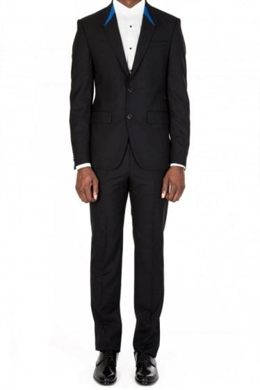 Givenchy Contrast Collar Suit