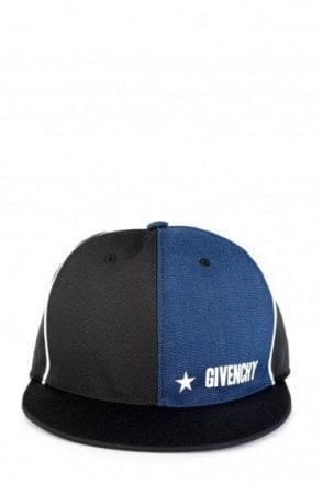Givenchy Contrast Panel Snap Back