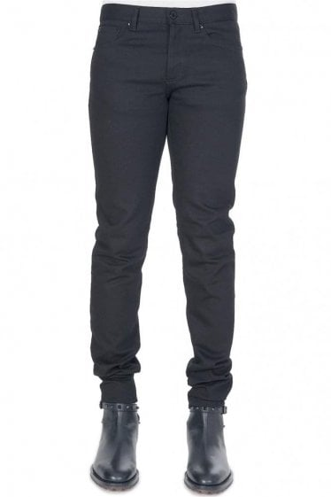 Givenchy Contrast Stars + Combination Item Jeans Black