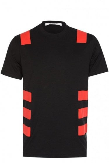 Givenchy Contrast Stripe T-Shirt
