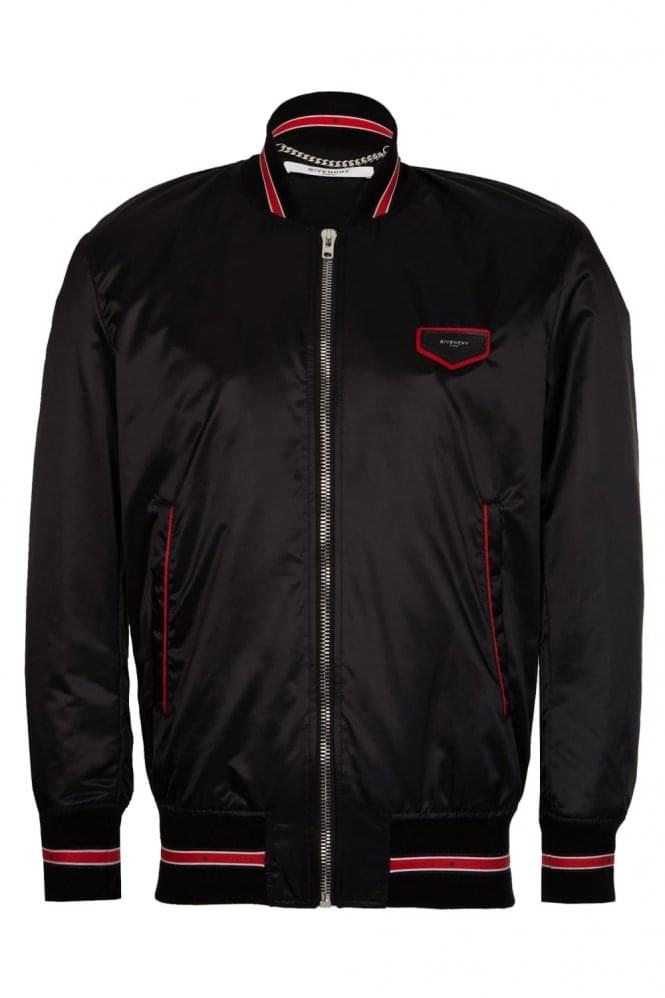 GIVENCHY Contrast Trim Bomber