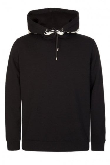 Givenchy Cuban Fit Shark Tooth Hoodie Black