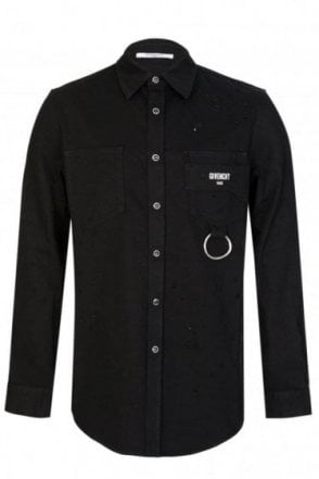 Givenchy Distressed Shirt Black
