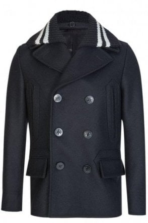 Givenchy Double Breasted Pea Coat
