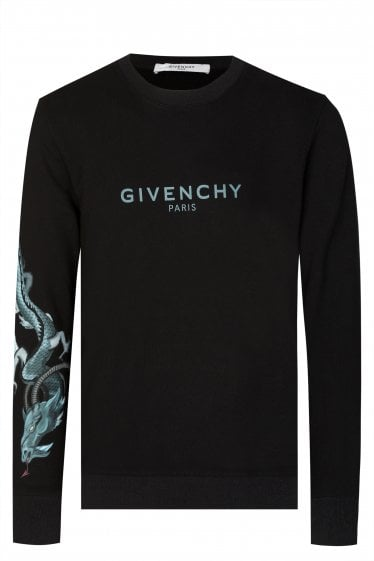 Givenchy Dragon Print Sweatshirt
