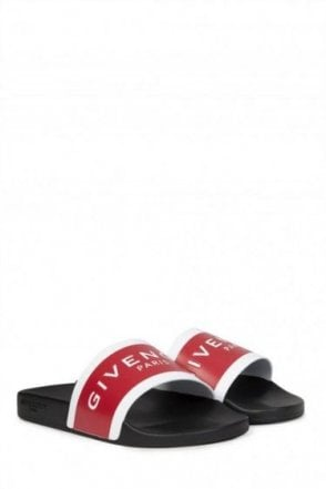 Givenchy Iconic Sliders Red