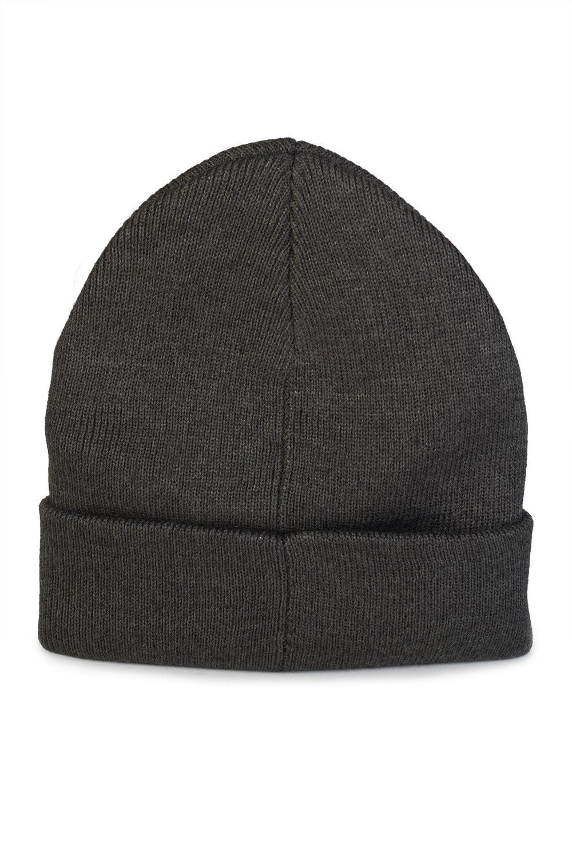 94eb1b93632 GIVENCHY Leather Logo Beanie Hat Grey - Clothing from Circle Fashion UK