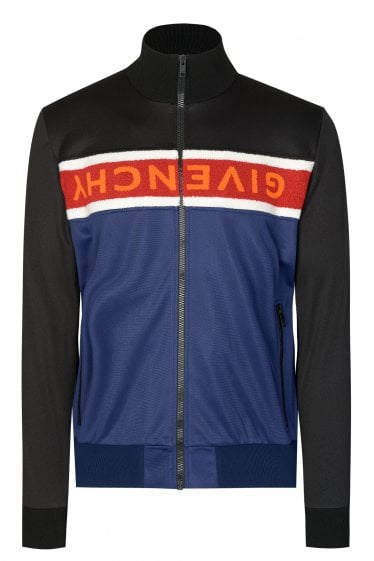 Givenchy Logo Stripe Jacket