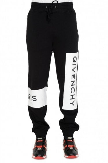 Givenchy Paris Logo Joggers