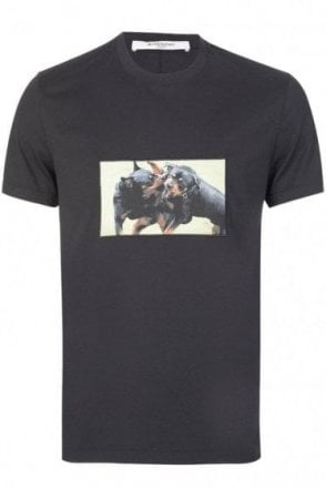 Givenchy Paris Rottweiler Tshirt Black