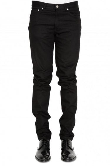 Givenchy Paris Tape Logo Jeans Black